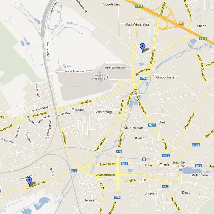 Kaart Broekx BVBA