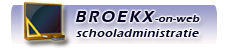 BROEKX-on-web Schooladministratie