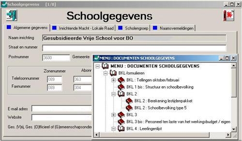 Schoolstructuur